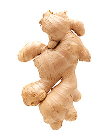 Ginger contains compounds active against oxidation, inflammation, and cancer. (Photo:©iStock/hudiemm)