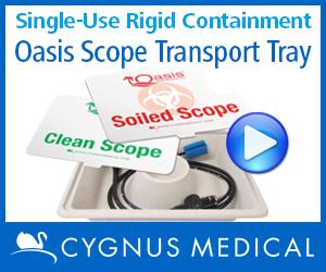 Cygnus Oasis Scope Transport Tray
