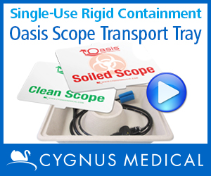 Cygnus Oasis Scope Transport Tray