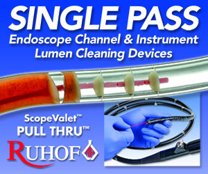 Endoscope Channel Instrument Lumen Cleaning Devices Ruhof Brushes